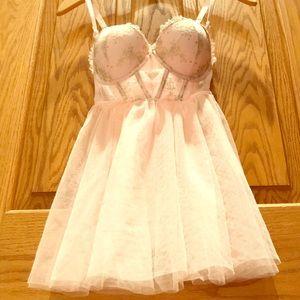 Victoria's Secret Ballerina Lingerie 34B RARE
